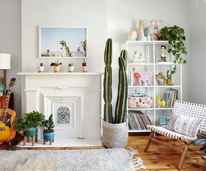 apartment, interior, and living room image