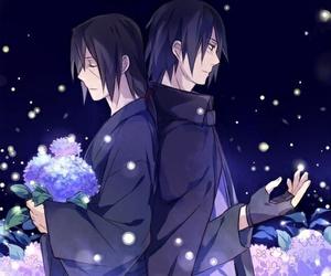 itachi, sasuke, and anime image