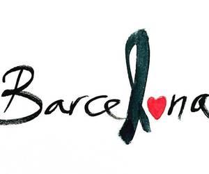 Barcelona and pray for barcelona image