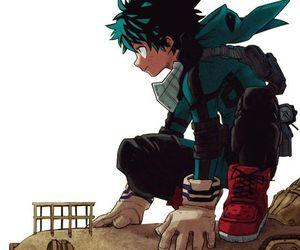 boku no hero academia, my hero academia, and deku image
