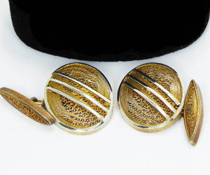 etsy, oval shaped, and mens jewelry image