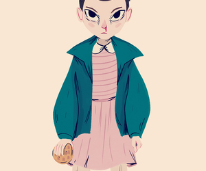 eleven, stranger things, and image image