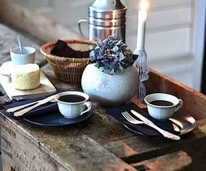 rustic, coffee, and home decor image