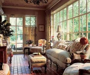 home decor, country cottage, and english cottage image