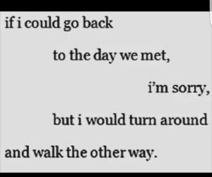 quotes, sorry, and life image