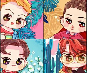 exo and kokobop image
