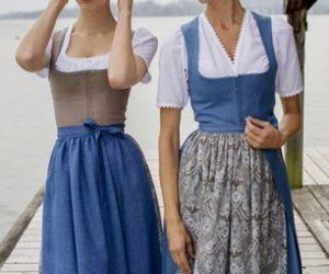 beautiful, dirndl, and dress image