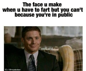 funny, Jensen Ackles, and angel image