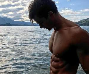 handsome, fitness body, and handsome boy image
