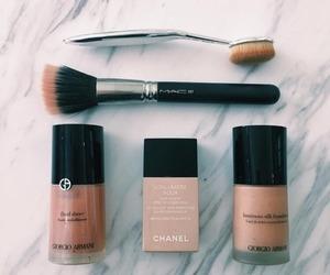 Armani, Brushes, and beauty image
