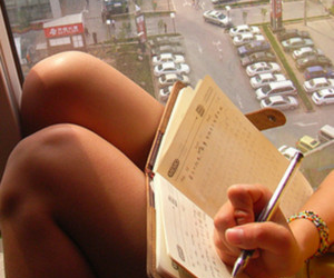 book, writer, and city image