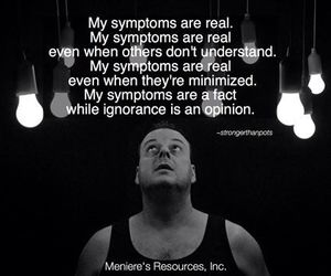 chronic illness and meniere's disease image