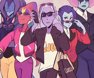 art and Voltron image