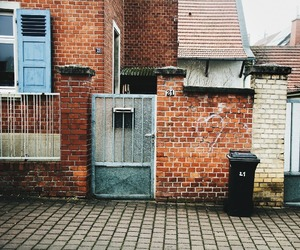 architecture, brick house, and Europa image