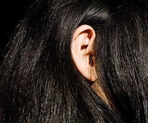 black hair image