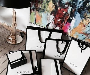 gucci, fashion, and shopping image