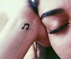 music, picture, and love image