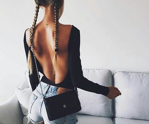 backless, beautiful, and outfit image