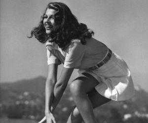 rita hayworth, dance, and Gilda image