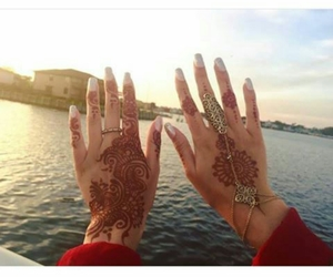 henna, henné, and mains image