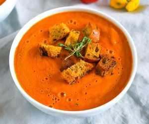 tomato soup, soup recipe, and tomato soup recipe image