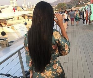 hairstyle, brune brunette, and holiday image