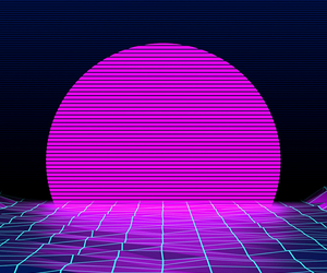 wallpaper, neon, and vaporwave image