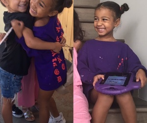 fashion, kids, and north west image