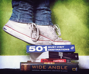 all star and books image