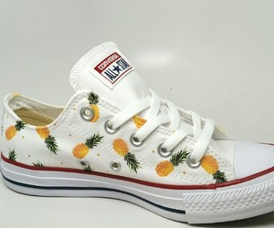 converse, fashion, and pineapple image