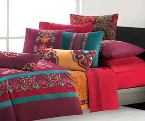 bed, arab, and colorful image