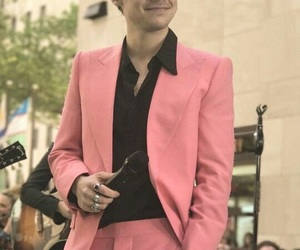 Harry Styles and pink image