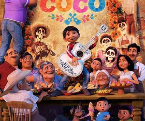 coco, mexico, and disney image