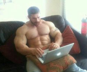 daddy, muscle, and love image