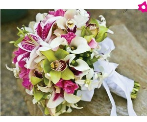 boda, flores, and girly image