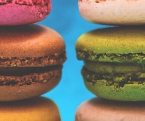 background, macaroon, and macaroons image