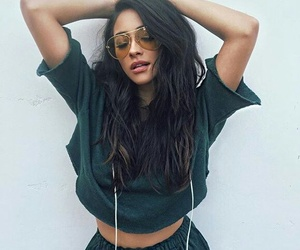 shay mitchell, beauty, and outfit image