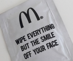 food, McDonald's, and minimalistic image