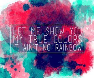 kesha, Lyrics, and true colors image