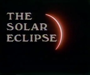 broadcast, 1979, and solar eclipse image