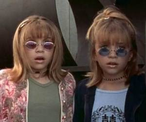 90s, twins, and vintage image