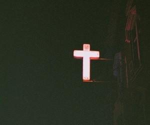 cross, grunge, and dark image