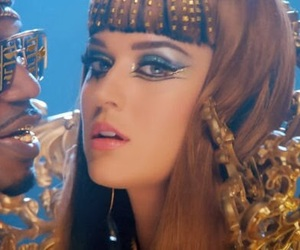 katy perry, prism, and makeup image