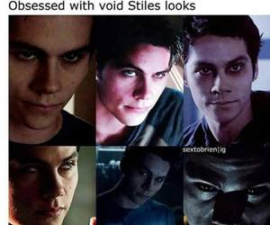 stiles, void, and teen wolf image