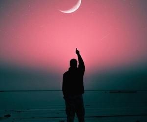 good, love, and moon image
