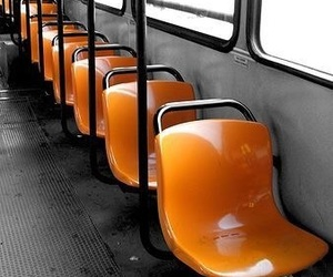 orange and bus image