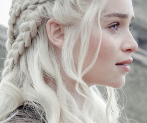 daenerys, game of thrones, and emilia clarke image