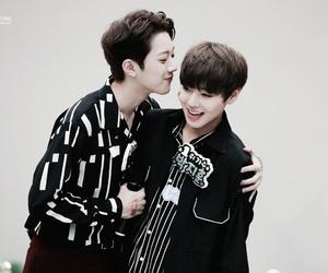 jihoon, wannaone, and guanlin image