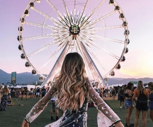 festival, hair, and outfit image