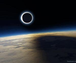 earth, eclipse, and solar eclipse image